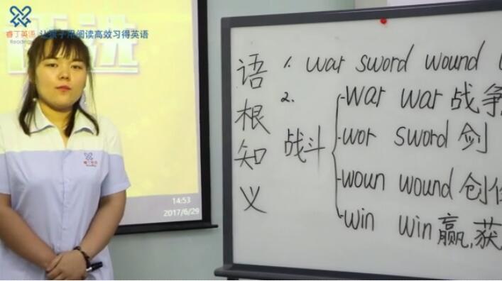 睿丁英语讲师王彦彩 Coco