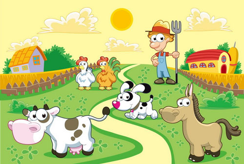 小孩子喜欢小动物,有的喜欢