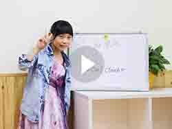 学员程麒锦同学演讲表演